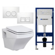 Geberit UP100 Toiletset Creavit SR320
